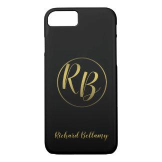 Professional Simple Black Gold - iPhone Case