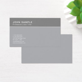 Professional Simple Design Classic Colors Harmony Business Card