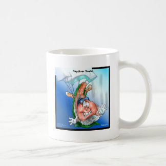 Professional Skydiver Sushi Gifts Cards Tees Etc Coffee Mug