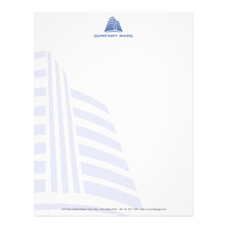 Professional, stylish real estate or construction… letterhead