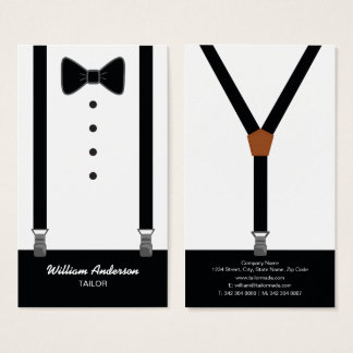 PROFESSIONAL TAILOR BUSINESS CARDS | TUXEDO