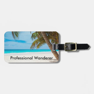 Professional Wanderer - Customizable Bag Tag