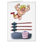 Professional Wrestler Slammin' Birthday Card