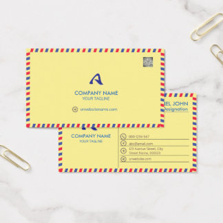 PROFESSIONAL YELLOW -CORPORATE WITH A LOGO & CARD