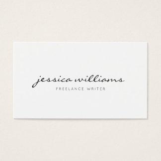 Professionnel moderne minimaliste cartes de visite