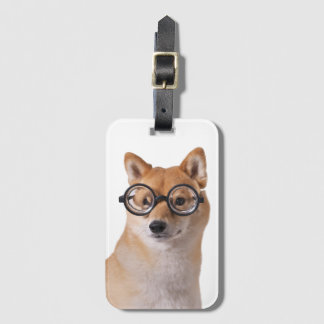 Professor Barkley - Luggage Tag w/ Card Slot