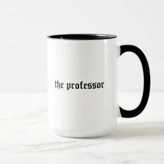 Professor cool, edgy gift mug