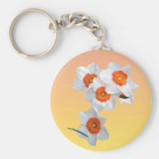 Professor Einstein's Flower Keychain