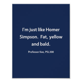 Professor Kee, PSL300 Poster