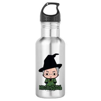 Professor McGonagall Cartoon Character Art 532 Ml Water Bottle