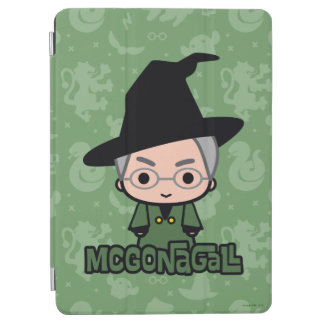 Professor McGonagall Cartoon Character Art iPad Air Cover