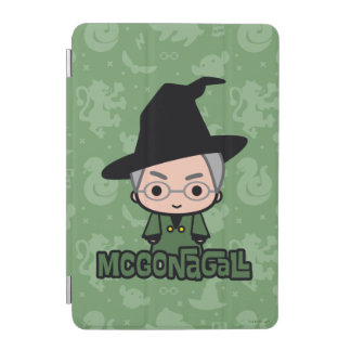 Professor McGonagall Cartoon Character Art iPad Mini Cover