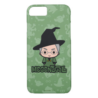 Professor McGonagall Cartoon Character Art iPhone 8/7 Case