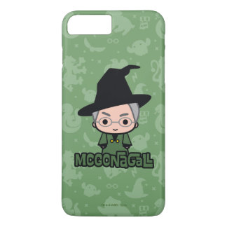 Professor McGonagall Cartoon Character Art iPhone 8 Plus/7 Plus Case
