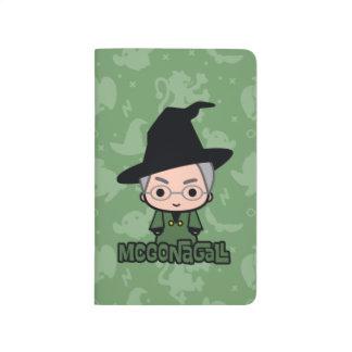 Professor McGonagall Cartoon Character Art Journal