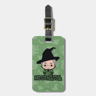 Professor McGonagall Cartoon Character Art Luggage Tag