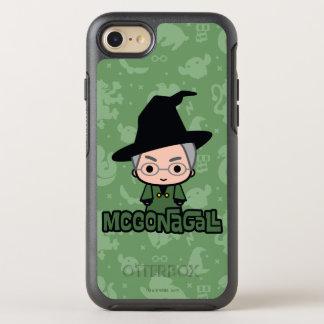 Professor McGonagall Cartoon Character Art OtterBox Symmetry iPhone 8/7 Case