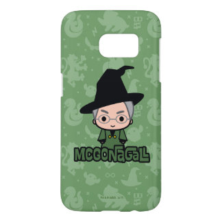 Professor McGonagall Cartoon Character Art Samsung Galaxy S7 Case