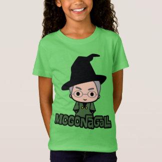 Professor McGonagall Cartoon Character Art T-Shirt