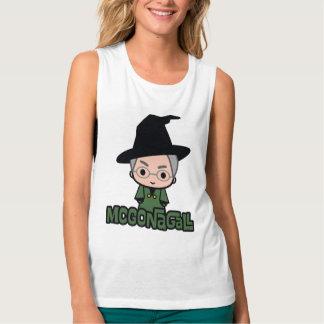 Professor McGonagall Cartoon Character Art Tank Top