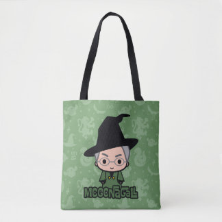 Professor McGonagall Cartoon Character Art Tote Bag