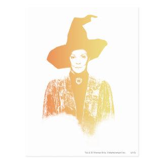 Professor Minerva McGonagall Postcard