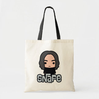 Professor Snape Cartoon Character Art Tote Bag