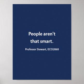 Professor Stewart, ECO2060 Poster