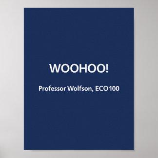 Professor Wolfson, ECO100 Poster