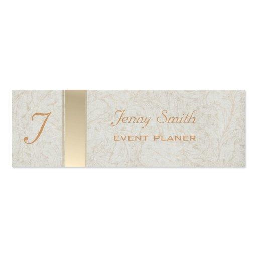 Proffesional elegant monogram business card templates