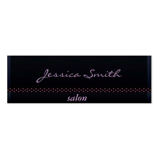 Proffesional elegant plain black business card template