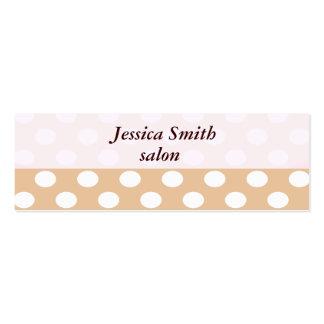 Proffesional elegant plain  monogram mini business card
