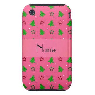 Profil sous convention astérisque rose nommé perso étui tough iPhone 3
