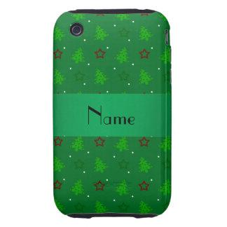 Profil sous convention astérisque vert nommé perso étuis tough iPhone 3