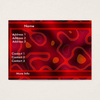 Profile Card Business Red Double Mix