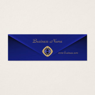 Profile Card Business Rich Blue Velvet Jewel 2