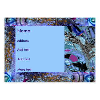 Profile Card Fantasy Art Purple Fairy Pack Of Chubby Business Cards