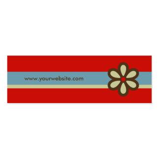 Profile Card - Social Networking Card Mini Business Card