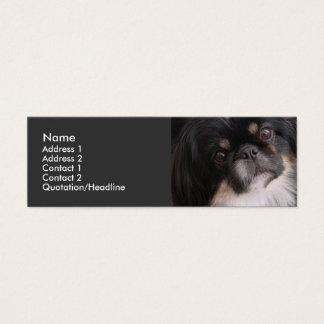 Profile Card Template - Pekingnese Dog