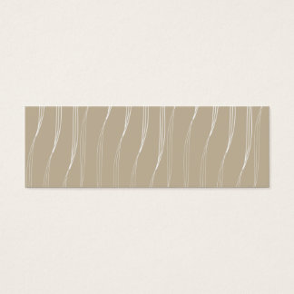 Profile card vanilla pud beige