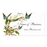 Profile Card Vintage Butterflies White Pack Of Standard Business Cards