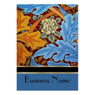 Profile Card Vintage Print William Morris Large Business Card