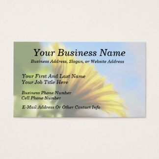 Profile - Golden Dandelion Business Card