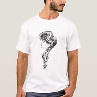 Profile Of A Gibson Girl, 1903 T-Shirt