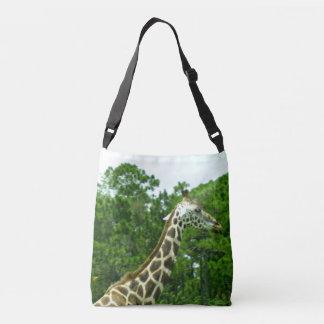 Profile of a Giraffe Crossbody Bag