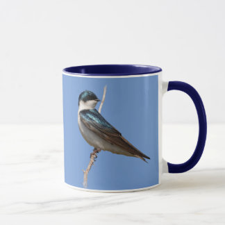 Profile of a Male Tree Swallow in the Sun Mug