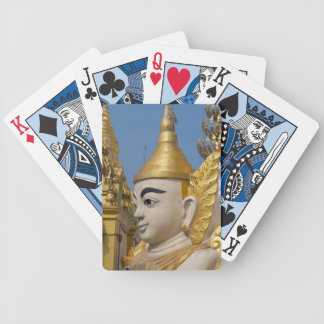 Profile Of Buddha Statue Bicycle Playing Cards
