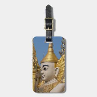 Profile Of Buddha Statue Luggage Tag
