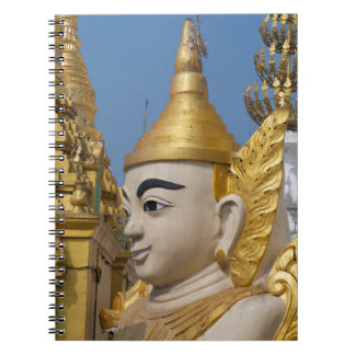 Profile Of Buddha Statue Notebook