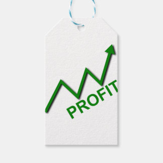 Profit Curve Gift Tags